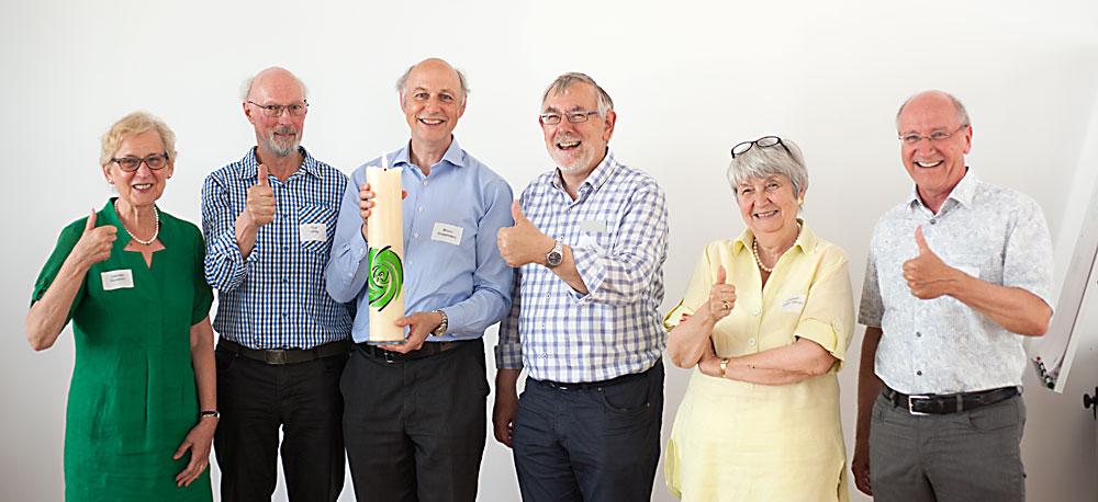Vorstand der Tagsatzung.ch: Gabriele Manetsch, Rolf Haag, Bruno Strassmann, Josef Mahnig, Lisbeth Bieger-Hänggi, Felix Senn.